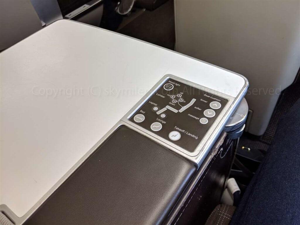 スイス航空ビジネスクラス 座席02