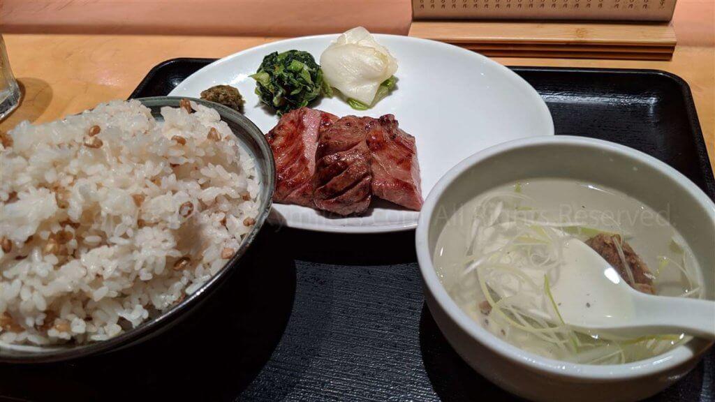 羽田空港 牛タン荒05