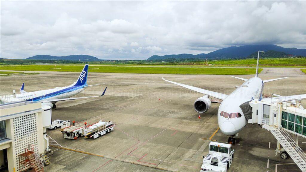 石垣空港 駐機場